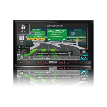 "Picture of Pioneer AVIC-8201NEXFlagship In-Dash Navigation AV Receiver with 7"" WVGA Capacitive Touchscreen Display"