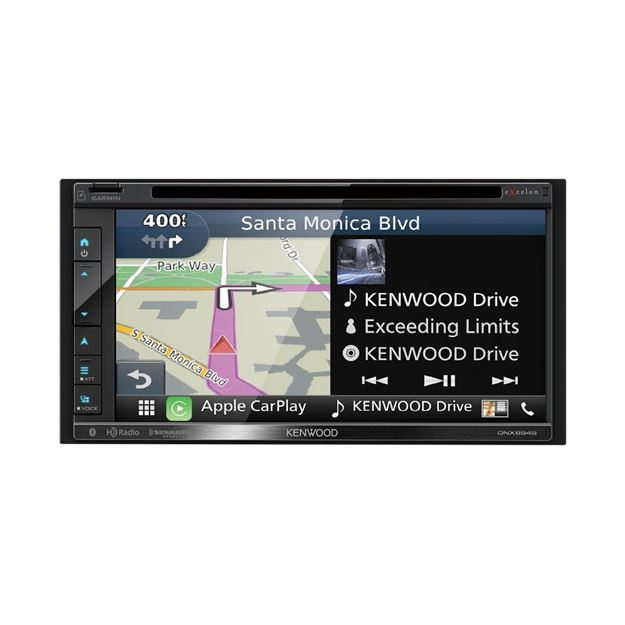 Picture of Kenwood Excelon DNX694S Navigation Receiver