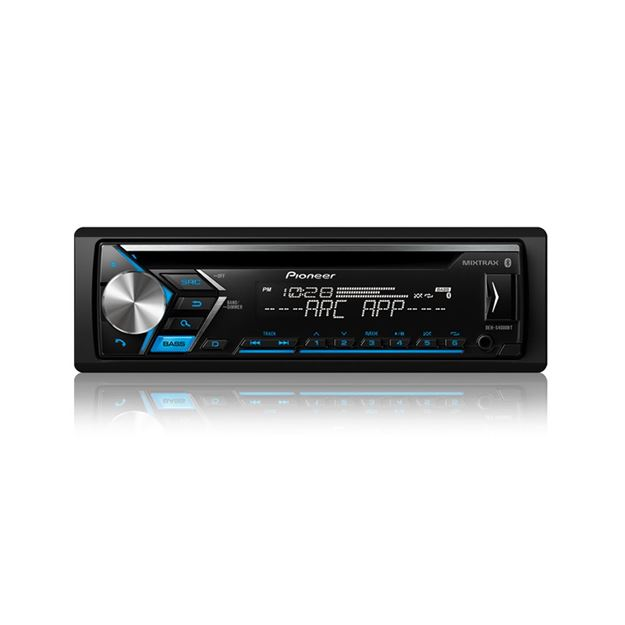 Picture of Pioneer DEH-S4000BT CD Receiver with Improved Pioneer ARC App Compatibility, MIXTRAX®, Built-in Bluetooth®