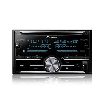 Picture of Pioneer FH-X830BHS2-Din CD Receiver with enhanced Audio Functions, Full-featured Pioneer ARC App Compatibility, MIXTRAX®, Built-in Bluetooth®, HD Radio™ Tuner and SiriusXM-Ready™